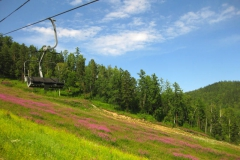 Ski lift - Tourism on Lake Baikal