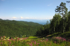 Pad Cross - Tourism on Lake Baikal