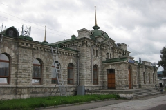 Station in Slyudyanka - Tourism on Lake Baikal