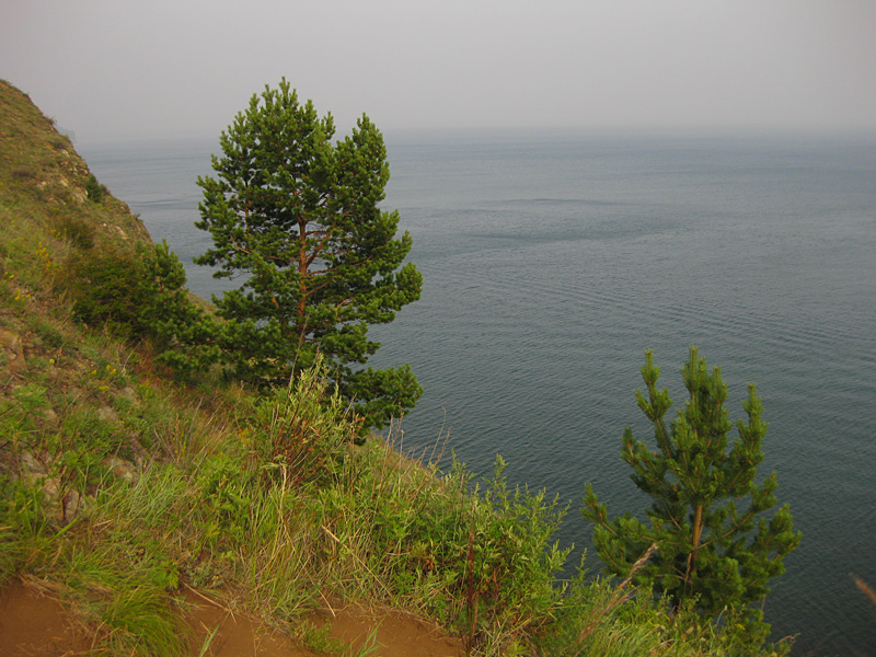 Evening landscape - Rest on Lake Baikal