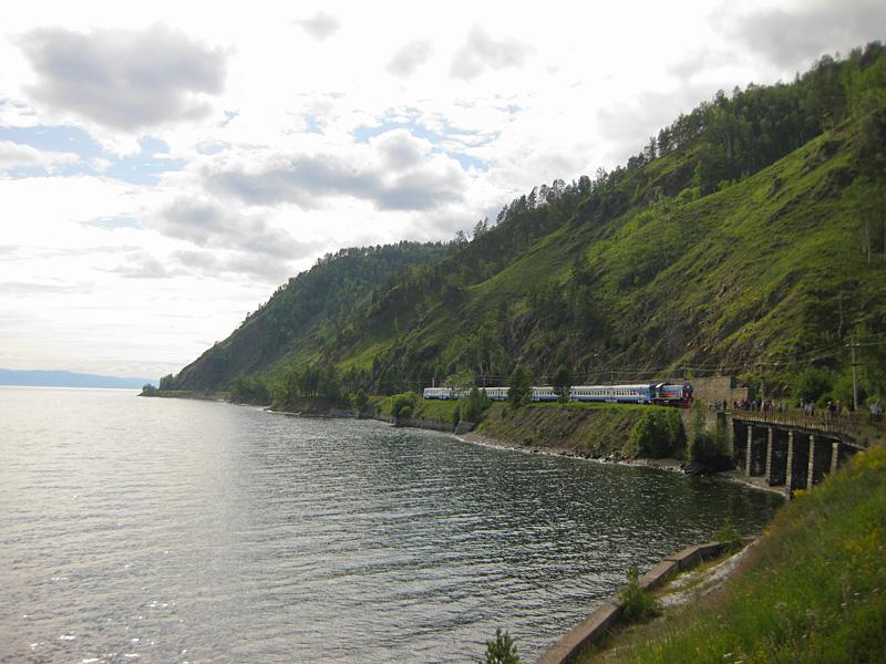 Circum-Baikal Railway - Rest on Lake Baikal
