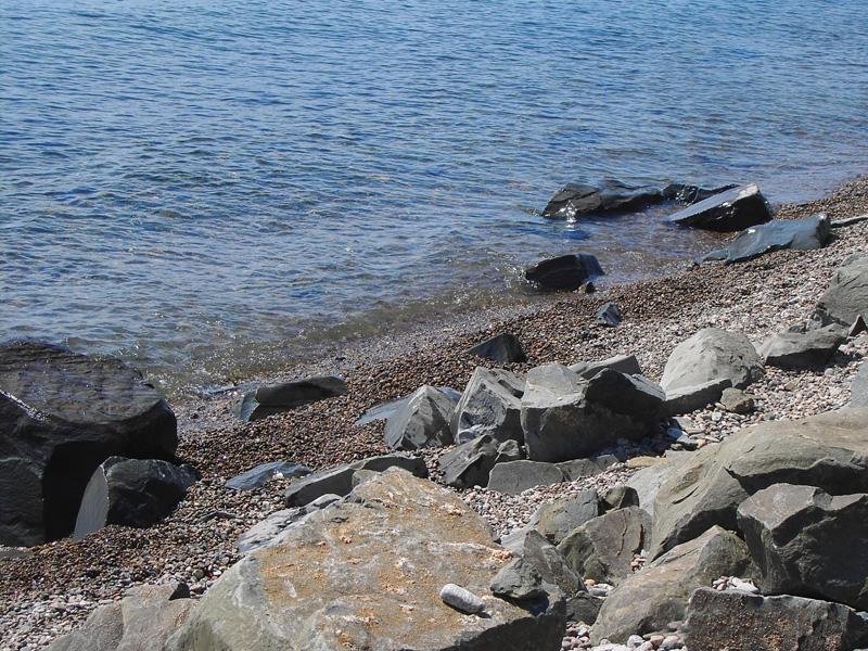 On the shore - Rest on Lake Baikal