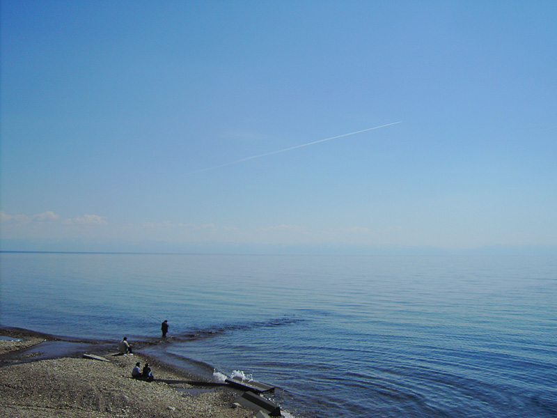 Sandbank on Baikal - Rest on Lake Baikal