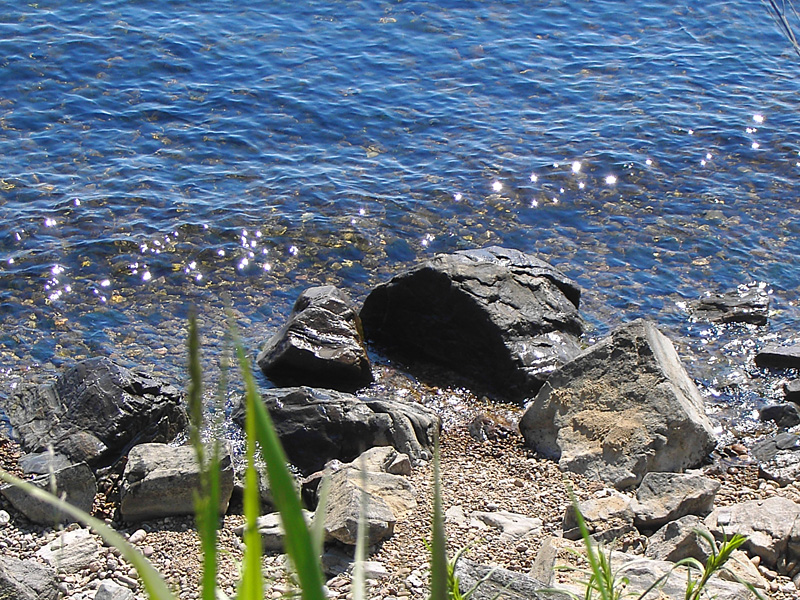 Coastal stones - Rest on Lake Baikal