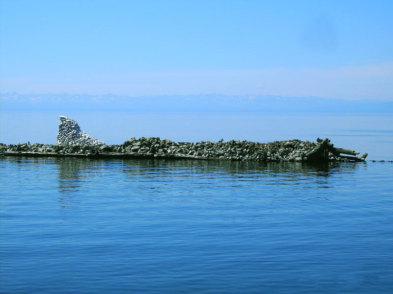 Not far from the shore - Rest on Lake Baikal