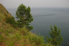 Evening landscape - Rest on Lake Baikal