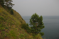 On the cliff - Rest on Lake Baikal