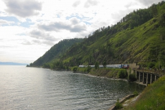 Circum-Baikal Railway - Rest on Lake Baikal