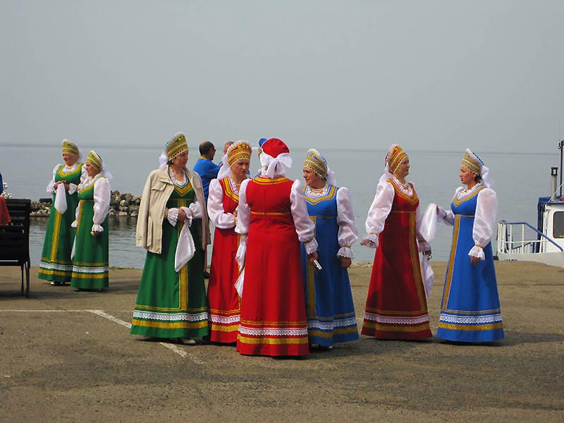 On holiday - Rest in Listvyanka