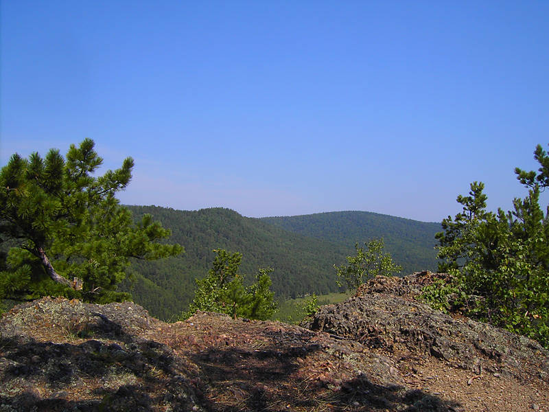 Volcanic rock - Rest in Listvyanka