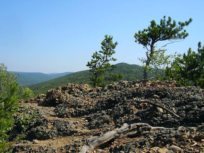 Rock near the House on Baikal - Rest in Listvyanka