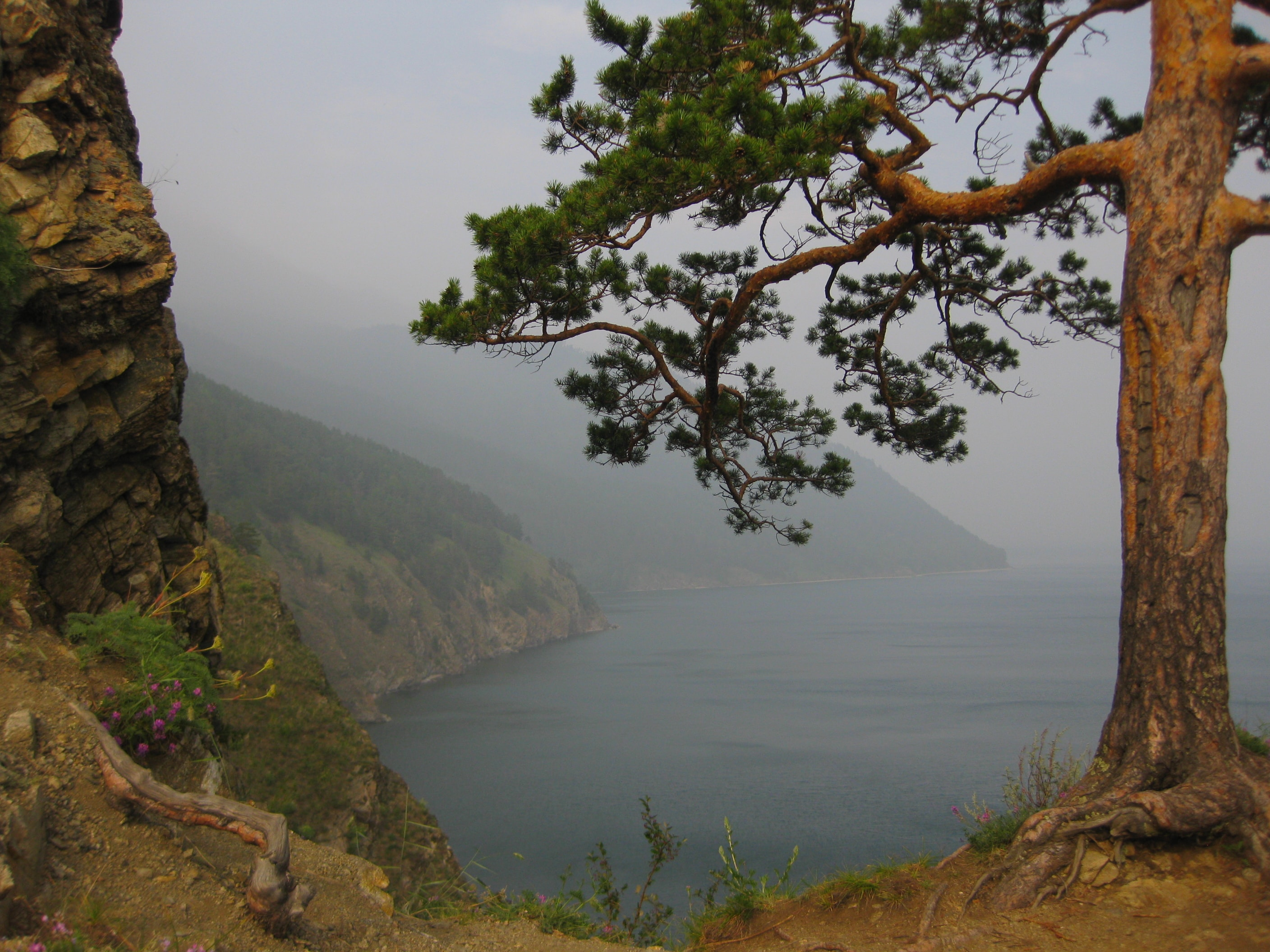 On the way to the Big Cats - Rest on Lake Baikal