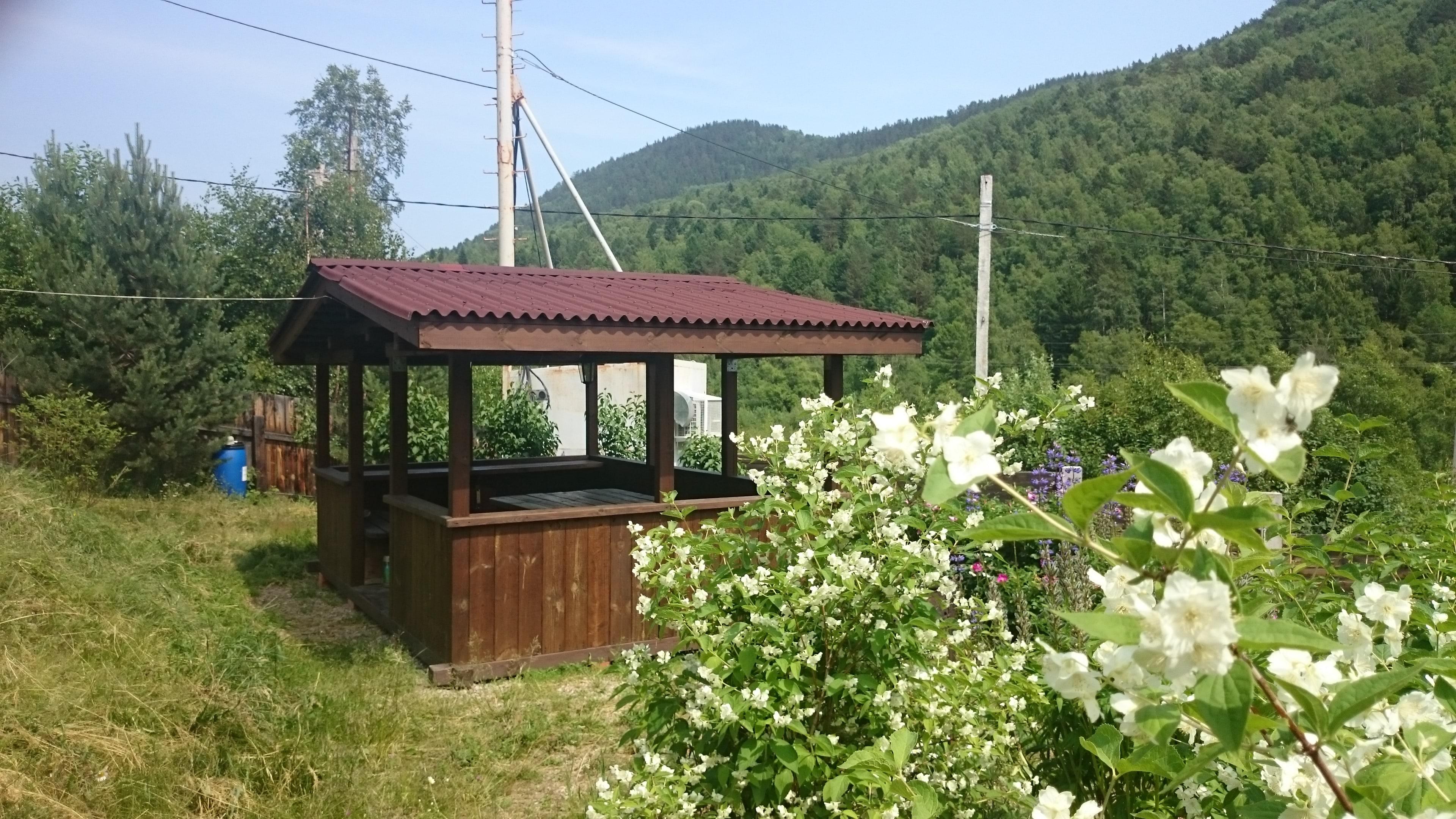 Зона отдыха - Дом на Байкале