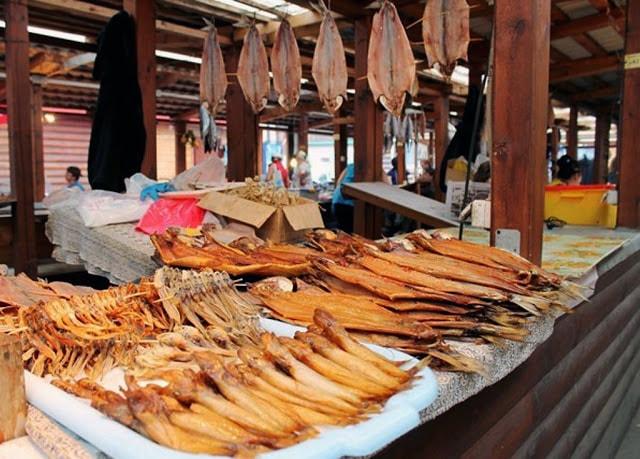 Рыбный рынок. Отдых на Байкале