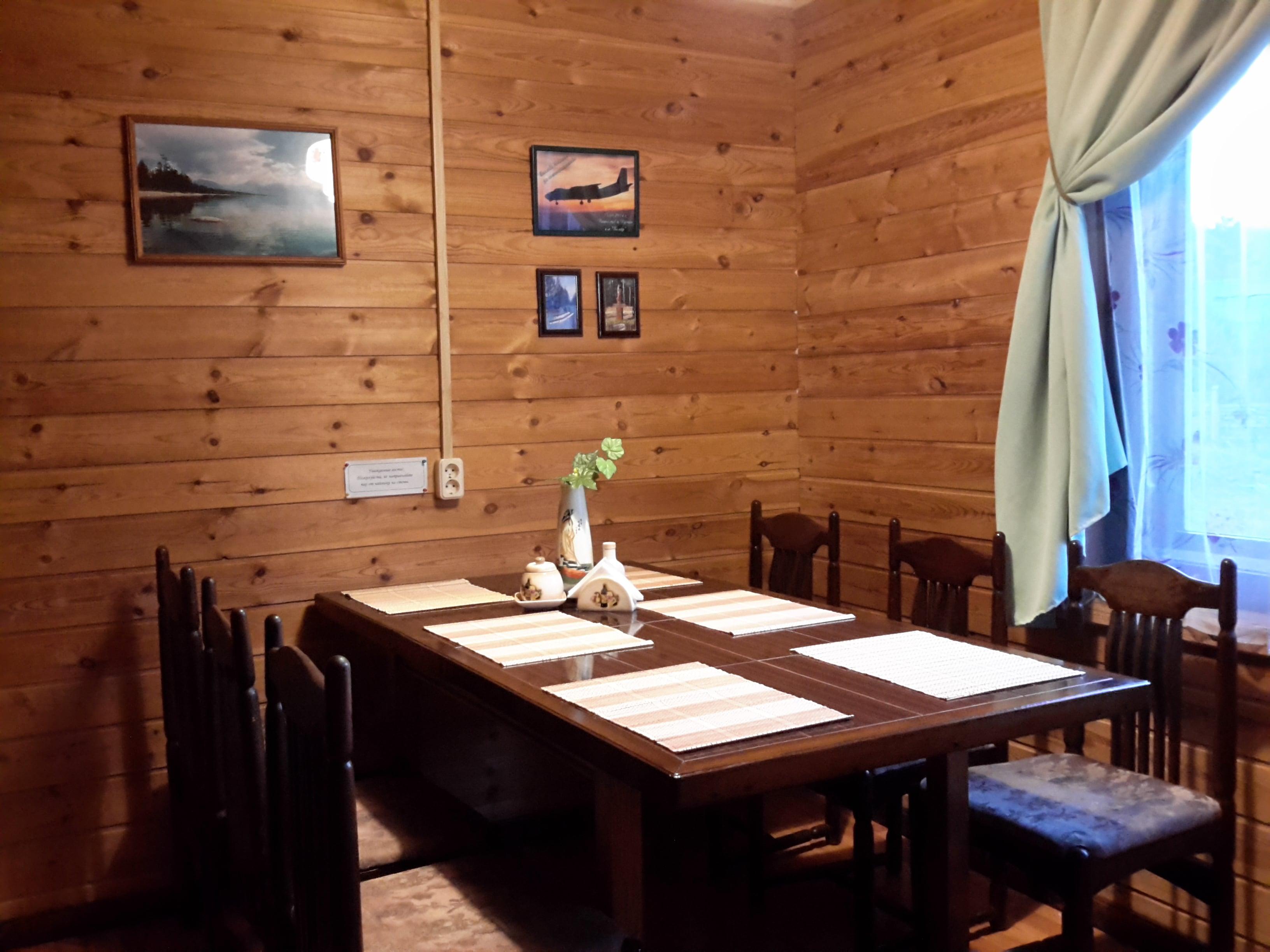 Living room - House on Lake Baikal